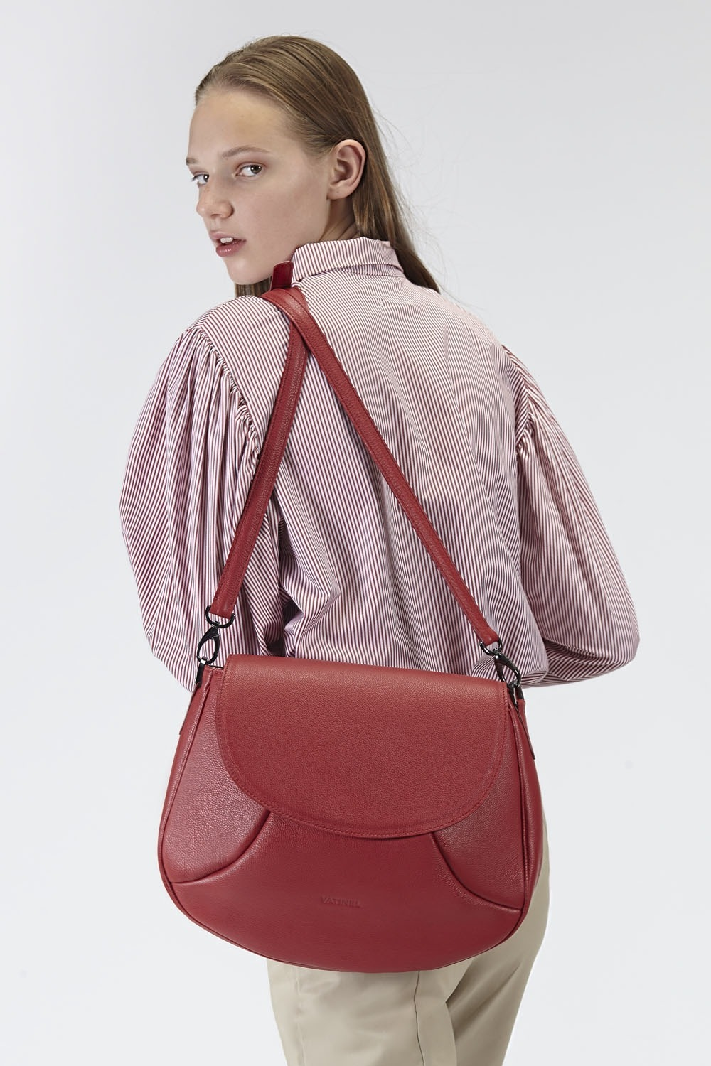 VATINEL HANDBAGS BRUSSELS RUBY